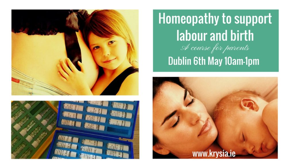 Homeopathy to support labour and birth